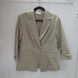 Joan River Classic Khaki Blazer Medium